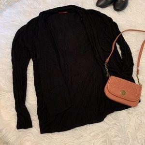 Black Simple Cardigan